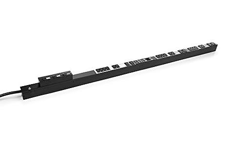 Hewlett Packard Enterprise H8B52A power distribution unit PDU - power distribution units (PDUs) (Switched, NEMA L15-30P, C13 coupler, C19 coupler, 0 - 60 °C, Black, -20 - 60 °C)