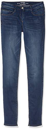 s.Oliver RED Label Mädchen Skinny Suri: Stretchjeans Blue Denim Stretch 152.REG
