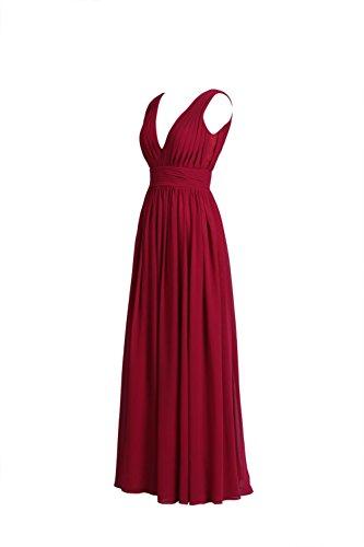 YiYaDawn -  Vestito  - linea ad a - Donna Rosa
