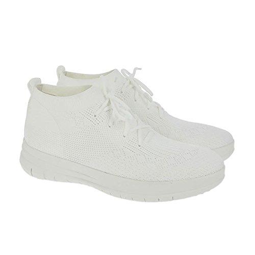 Blanc Urbain Du Sneaker Haut Haut Slip-on Uberknit FitFlop Urban Blanc