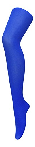 Sock Snob - Ladies / womens 40 denier bright coloured opaque neon tights (Hip 36