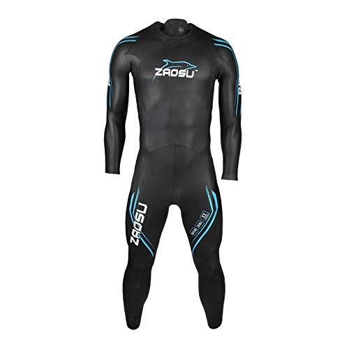 ZAOSU Herren Neoprenanzug Racing 2.0 | Flexibler Openwater Triathlon Wetsuit fürs Freiwasser Schwimmen und Wettkämpfe, Größe:M