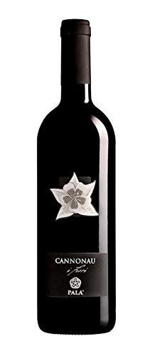 6 x 0.75 l - I Fiori di Pala, Cannonau di Sardegna Doc. colore rosso rubino intenso con unghia violacea, molto limpido. Profumo intenso fresco ed immediato con nuances di frutta rossa matura