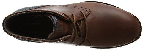 Rockport Ledge Hill Too Chukka, Bottes Chukka homme Brown (tan Leather)