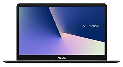 """ASUS ZenBook Pro UX550VD-BN009T - Ordenador portátil de 15.6"""" Full HD (Intel Core i7-7700HQ, 8 GB de RAM, 256 GB SSD, NVIDIA GeForce GTX1050 de 4 GB, Windows 10 Home) Negro - Teclado QWERTY Español"""