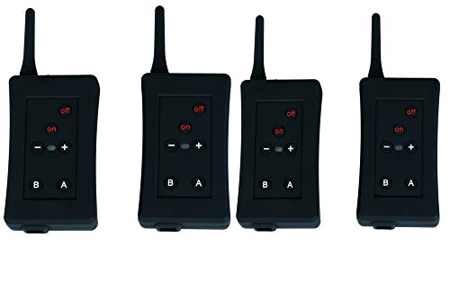 4 x Referee BT intercom FBIM 4set Football Referee Full Duplex Bluetooth Interphone 1200M Synchronous Intercom Paired Wireless FM Full-duplex Wireless
