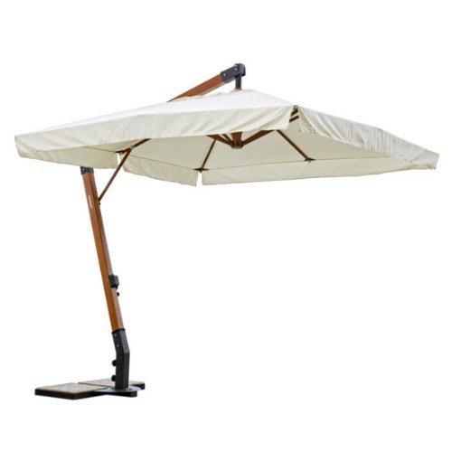 Bizzotto bizz-0795320 jesi ombrellone braccio 3x4, ecru