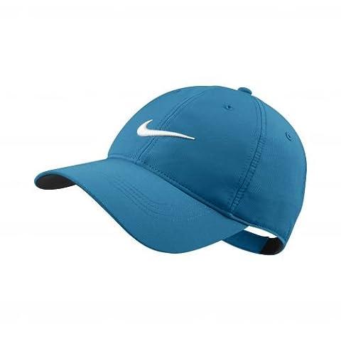2014 Nike Tech Swoosh Mens Golf Cap Blue Lacquer