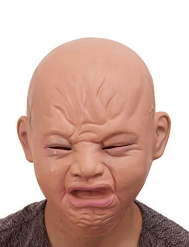 Neuheit Halloween Kostüm Kopf Maske Für Festival Parteien (Cry Baby)