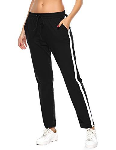Hawiton Pantalones Deportivos Mujer 100% Algodón
