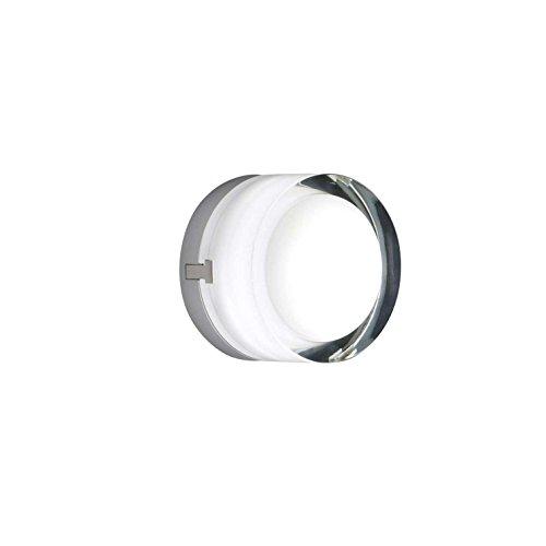 Vibia Scotch-Lámpara LED de techo, transparente ø12cm