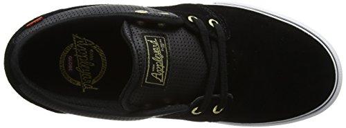 Globe Herren Mahalo Sneaker Schwarz (nero / Oro)