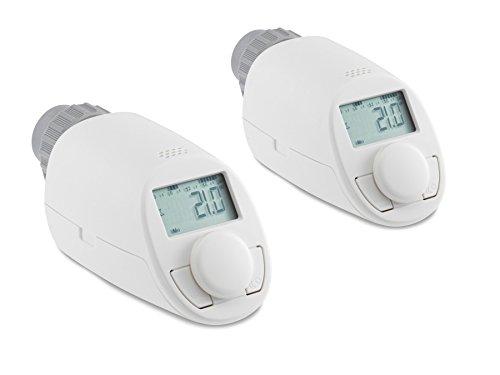Heizkörper-Thermostatkopf EQIVA Model N, 2er-Set