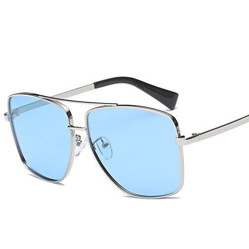 Zusammen Stil Sonnenbrille weibliche Flut Stil der Persönlichkeit Han Ban das runde Gesicht Sonnenbrille Spiegel Mode Quadrat Art in der Nähe von Sicht