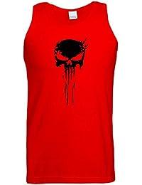 Punisher Skull Logo Gilet Debardeur Frank Castle Jeu