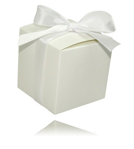 12x Kartonagen Pure weiß Gastgeschenk Hochzeit Hochzeitsmandeln Gastgeschenke Bonboniere Kartonage Geschenkboxen Geschenkbox Mandeln Wedding Favours Taufe Taufmandeln Kommunion Schachtel Giveaways