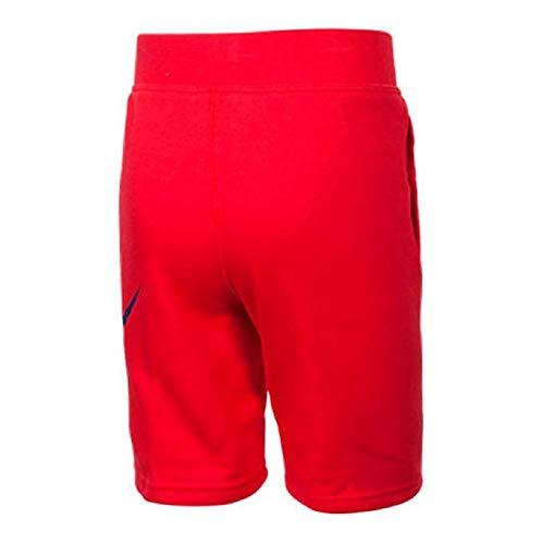 Alumni Fleece Shorts (2T, University Red/Deep Royal) ()