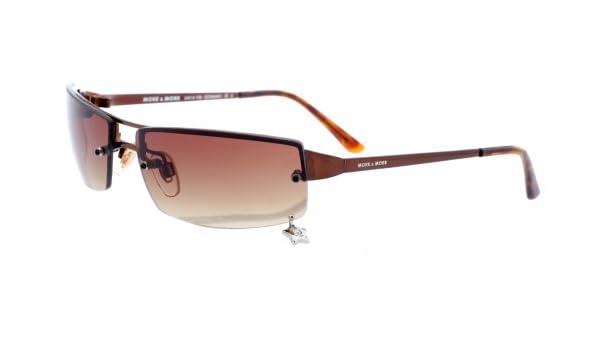 More and More Damen Sonnenbrille Dunkelbraun 54512-700 huB7TD0