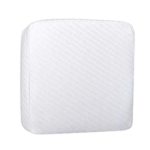 Yusell  Für Ihren Kopf entworfenes Kissen Schützen Sie den Kissenbezug Wirbelwürfel Soft Pad -
