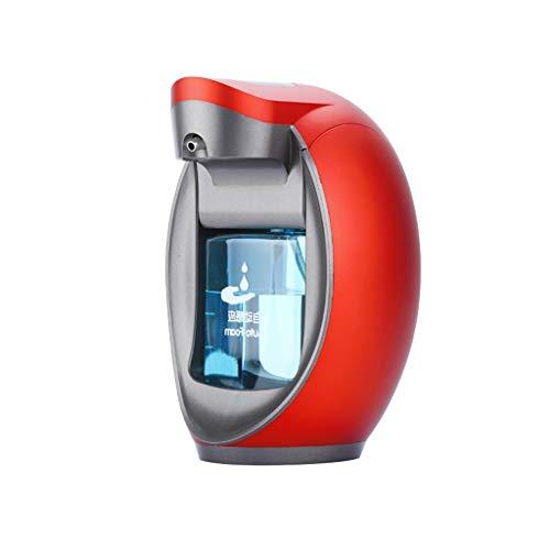 ender Berührungslos mit Sensor/Arbeitsplatten/Wand Selbst gemachter Schaum Berittenes Shampoo/Geschirrspülmittel/Lotion 480ML (Farbe : Rot) ()