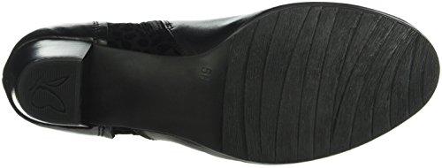 Caprice Damen 25335 Kurzschaft Stiefel Schwarz (BLACK COMB 19)