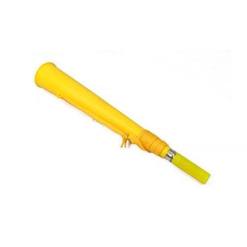 Gelb Fans Flug Blow Horn Vuvuzela Lautes Neuheit Trompete & Riemen