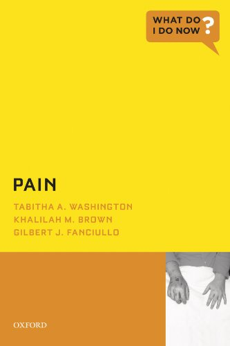 Pain (what Do I Do Now) por Khalilah M. Brown epub
