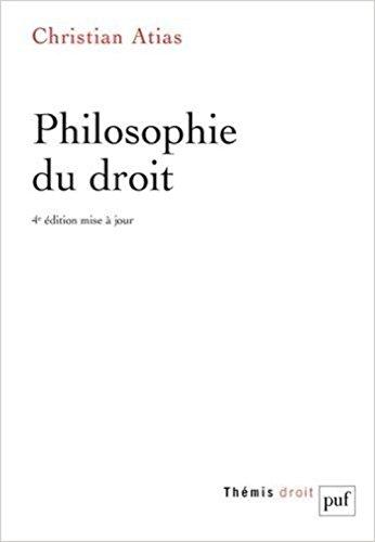 Philosophie du Droit (4ed)
