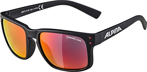 Alpina Unisex- Erwachsene KOSMIC Promo Sonnenbrille, schwarz, One Size