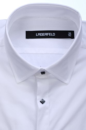 Lagerfeld - Chemise habillée 606003 10 Blanc Blanc
