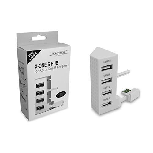4 porte USB 2.0 Hub per Xbox Una console Slim Splitter Adattatore USB di espansione USB 2.0 Connettore Extender accessori del gioco