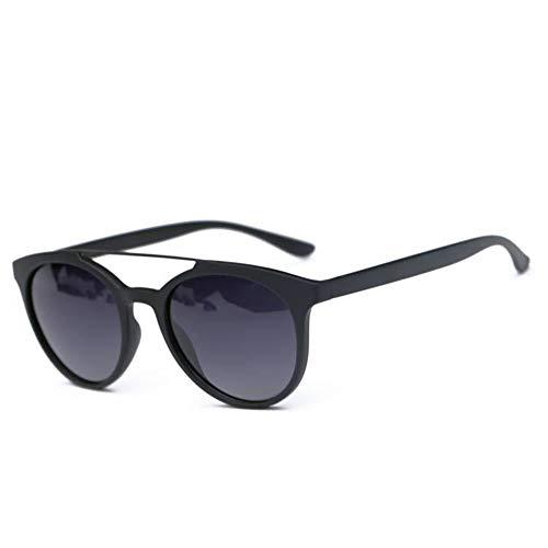 ETH UV400 Sonnenbrille Damen Polarisierte Sonnenbrille Weibliche Brille Rundes Gesicht Spiegel dauerhaft