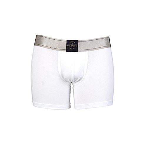 Preisvergleich Produktbild RJ The Good Life Sweatproof Herren Boxershorts sind die Lösung bei übermäßiger Transpiration weiß S ( Taile 71 - 74 cm)