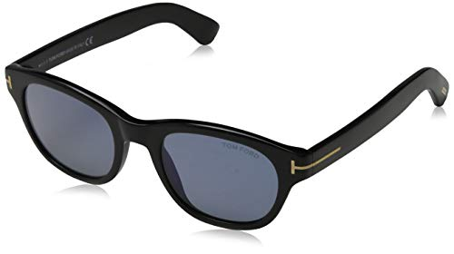 Tom Ford Herren FT0530 01V 51 Sonnenbrille, Schwarz,