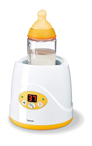 Beurer BY 52 baby food and bottle warmer with warming function & led display.