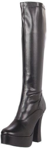 Pleaser - ELECTRA-2000Z, Polacchine donna, color Nero (Blk St Faux Leather), talla 42 EU (9 Damen UK)