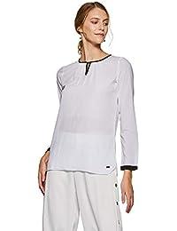 Park Avenue Women Women's Plain Regular Fit Top