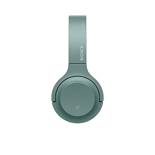 Sony WH-H800 h.ear Series Wireless On-Ear High Resolution Headphones with 24 Hours Battery Life - Green
