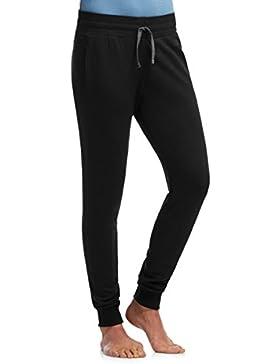 Icebreaker Crush  - Pantalones de Jogging para mujer, color negro / carbón, talla XL