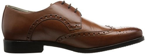 Clarks Amieson Limit Herren Brogue Schnürhalbschuhe Braun (Tan Leather)