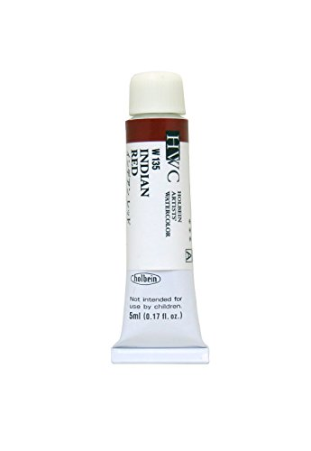 Holbein Aquarell: 5ml Tube INDIAN RED - Red 5 Ml-tube