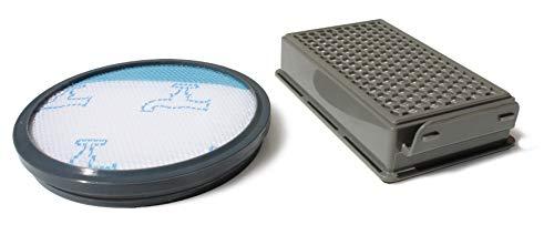MI:KA:FI Juego de filtros | para Rowenta + Moulinex + Tefal | Modelos Compact Power Cyclonic | como ZR005901