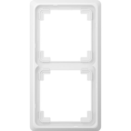 Preisvergleich Produktbild Jung CDP582WW Rahmen, 2-fach