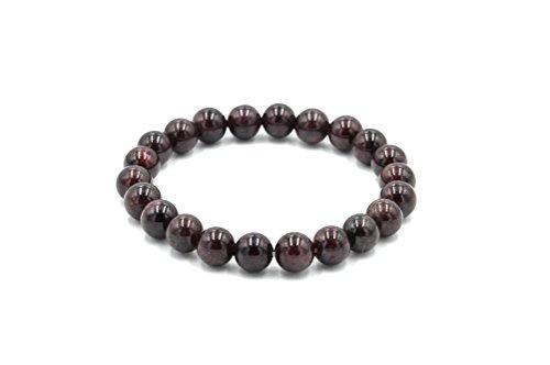 you-gem-semi-precious-gemstone-8mm-round-beads-stretch-bracelet-7-unisex-garnet