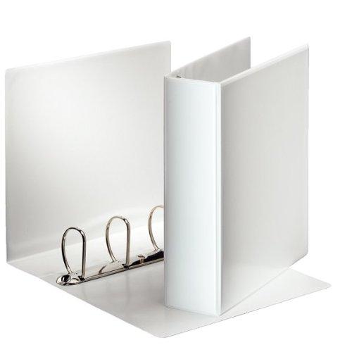 Esselte Präsentationsringbuch (DIN A4, 4 Ringe, 65 mm) weiß