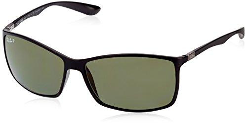 Ray-Ban Unisex Sonnenbrille RB4179, Einfarbig, Gr. Large (Herstellergröße: 62), Schwarz (601S9A)