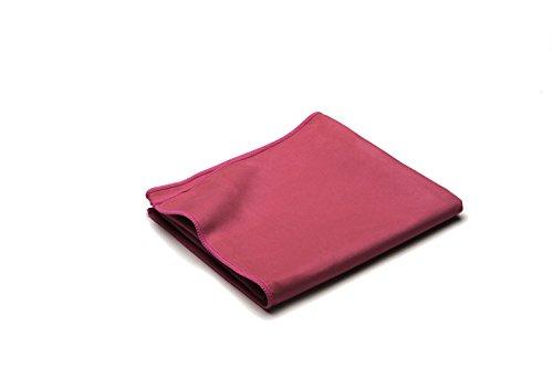 Dream Art Microline Handtuch, Badetuch, Reisehandtuch aus schnelltrocknenden Mikrofasern, inkl. Netztasche, 3450 Fb. 4, fuchsia, 40 x 80 cm