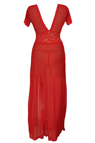 Dissa® femme Rouge SY6366-3 robe de cocktail Rouge