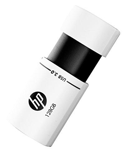 HP X765W USB 3.0 128GB Pen Drive (White & Black)