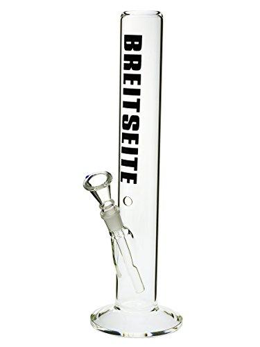 Breitseite Bong gerade - 40 cm, 18,8 mm - head&nature Bong-Kollektion